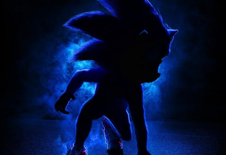 """""""Sonic: O Filme"""" ganha 1º teaser e revela detalhes do personagem"""