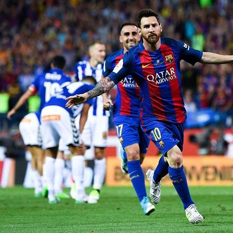 Lúc nào Barca cũng giữ tốt phong độ của mình