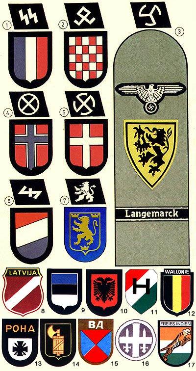 Afbeeldingsresultaat voor Foreign SS units