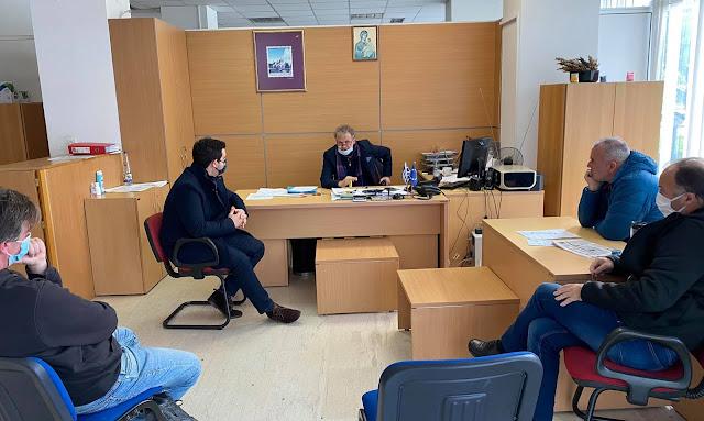 Επίσκεψη Κάτση στα ΕΛΤΑ Ηγουμενίτσας και Φιλιατών