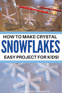 how to make crystal snowflakes