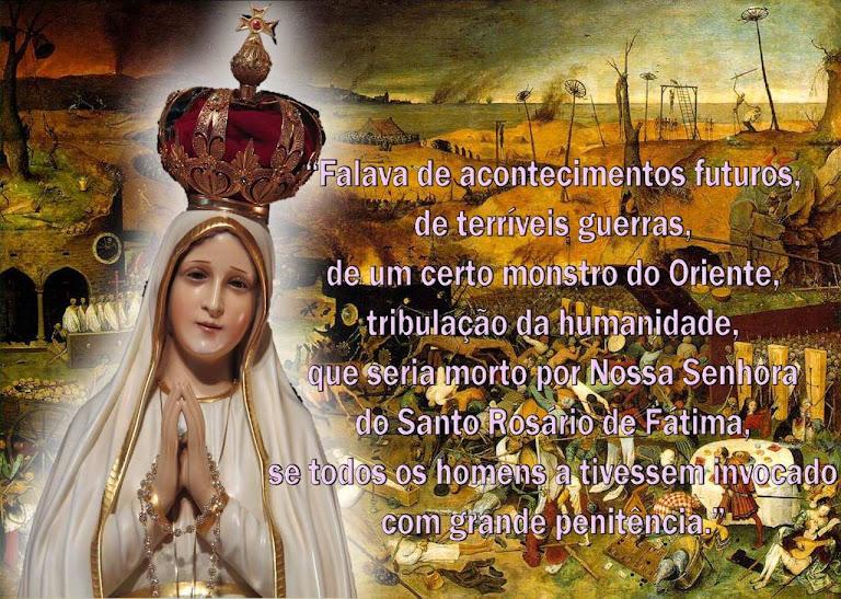 Prenúncio do triunfo de Fátima quase cinco séculos antes das aparições