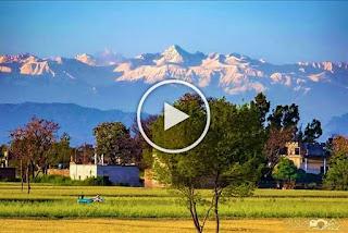 Върховете на Хималаите, видими от части на Индия за първи път от десетилетия (ВИДЕО, СНИМКИ)