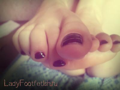 Красивые женские пальчики, женские пальчики ног
