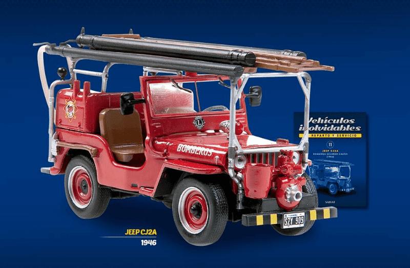 Jeep CJ2A Bomberos salvat