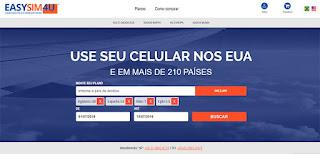 EasySim4U chip de celular e internet