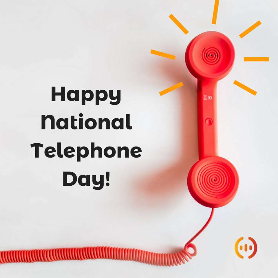 National Telephone Day Wishes for Whatsapp