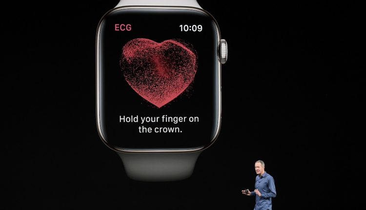 Apple launches the EKG smart watch app