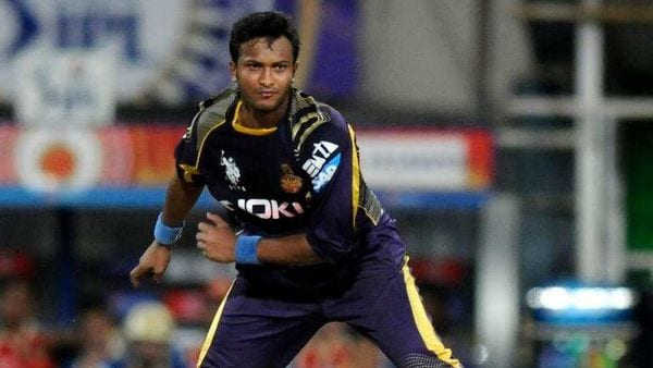 KKR on the field without all-rounder Shakib
