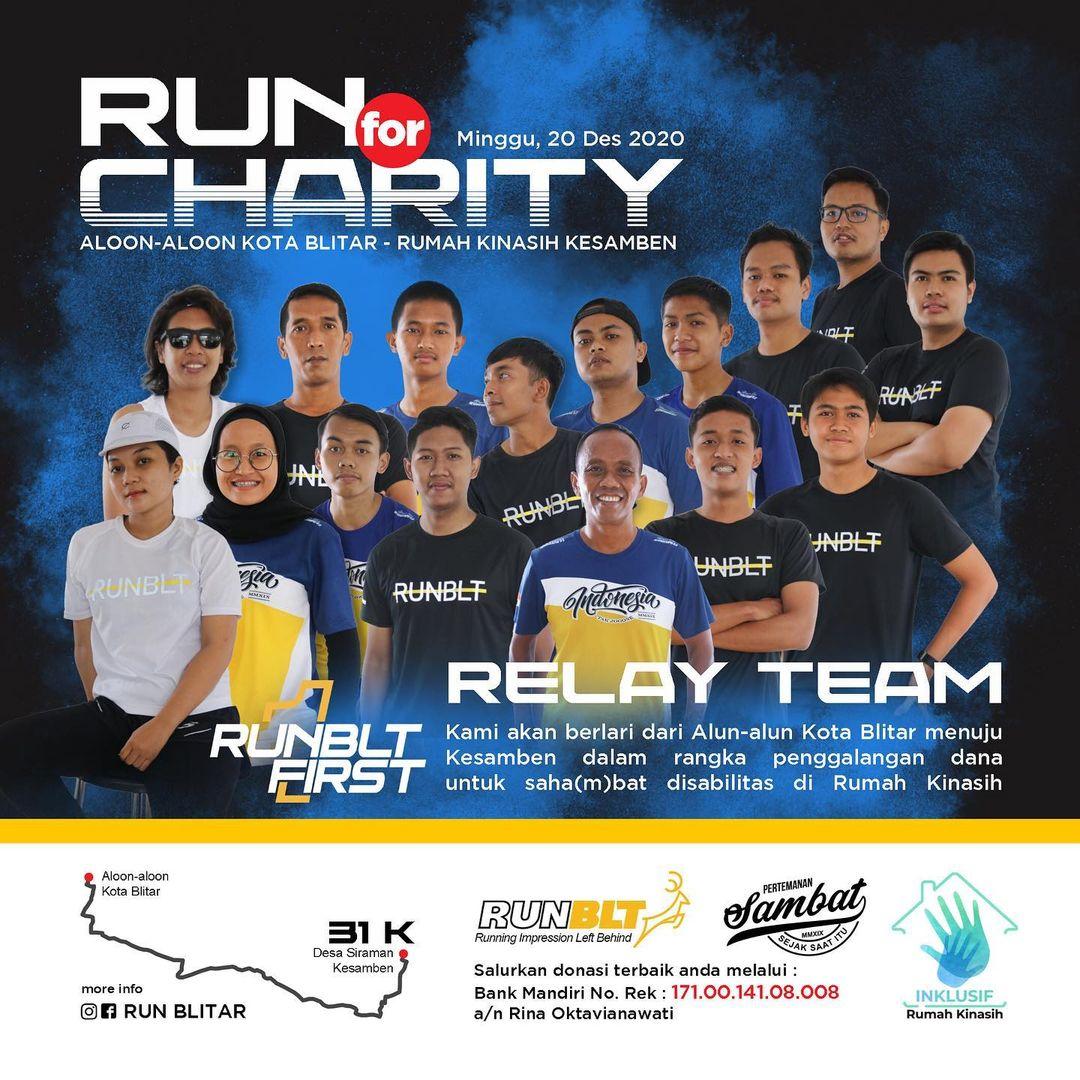 Run for Charity - Berlari untuk Rumah Kinasih • 2020