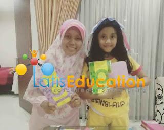 Belajar mengaji dengan ceria bersama guru latis privat