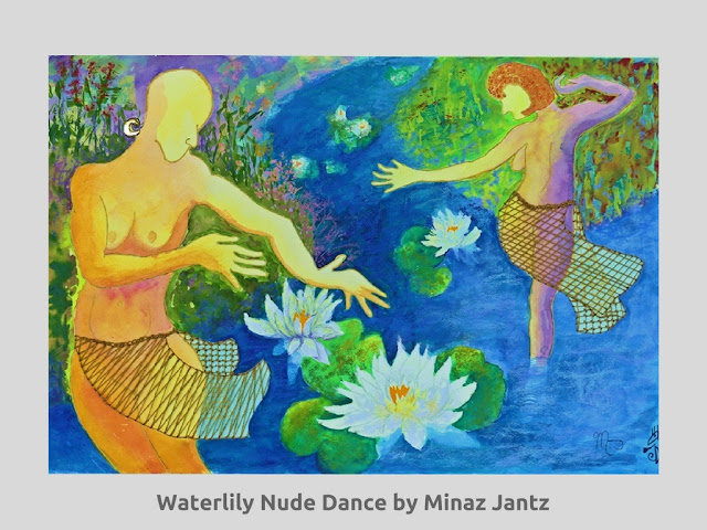 Waterlily Nude Dance by Minaz Jantz