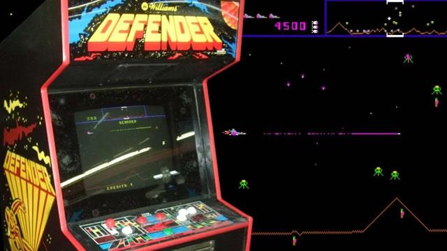 1981. Defender Arcade