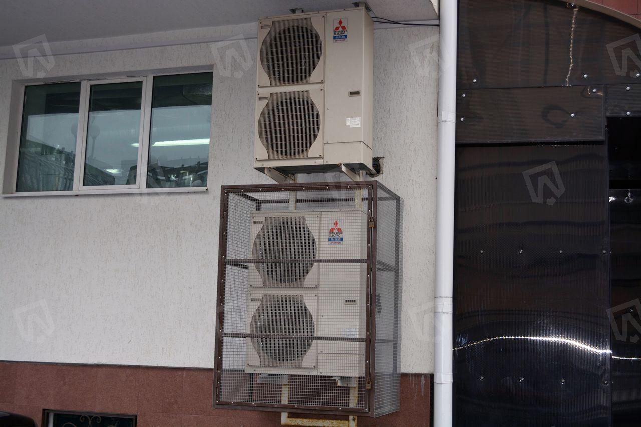 Наружные блоки Mitsubishi Electric для охлаждения приточного воздуха системы вентиляции
