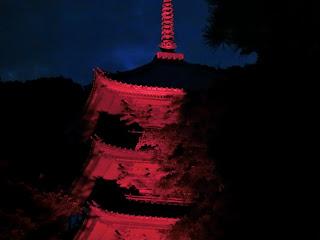 龍の口竹灯籠