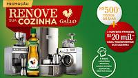 Promoção Renove sua Cozinha Azeite Gallo promocaogallo.com.br