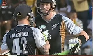 Brendon McCullum 81* - Zimbabwe vs New Zealand 1st T20I 2011 Highlights