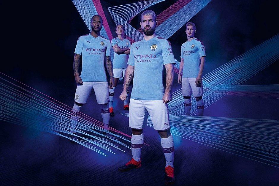 Manchester city dream league kit 2019