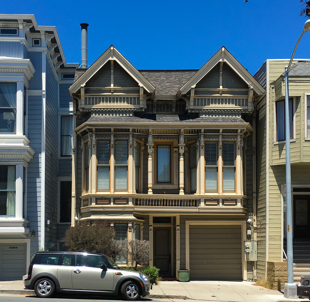 2,560 Square Foot Sick Style Victorian Duplex Built Around 1900. Last Sold  For $995K In 1998. Current Estimates Value The Property At About $1.7  Million.