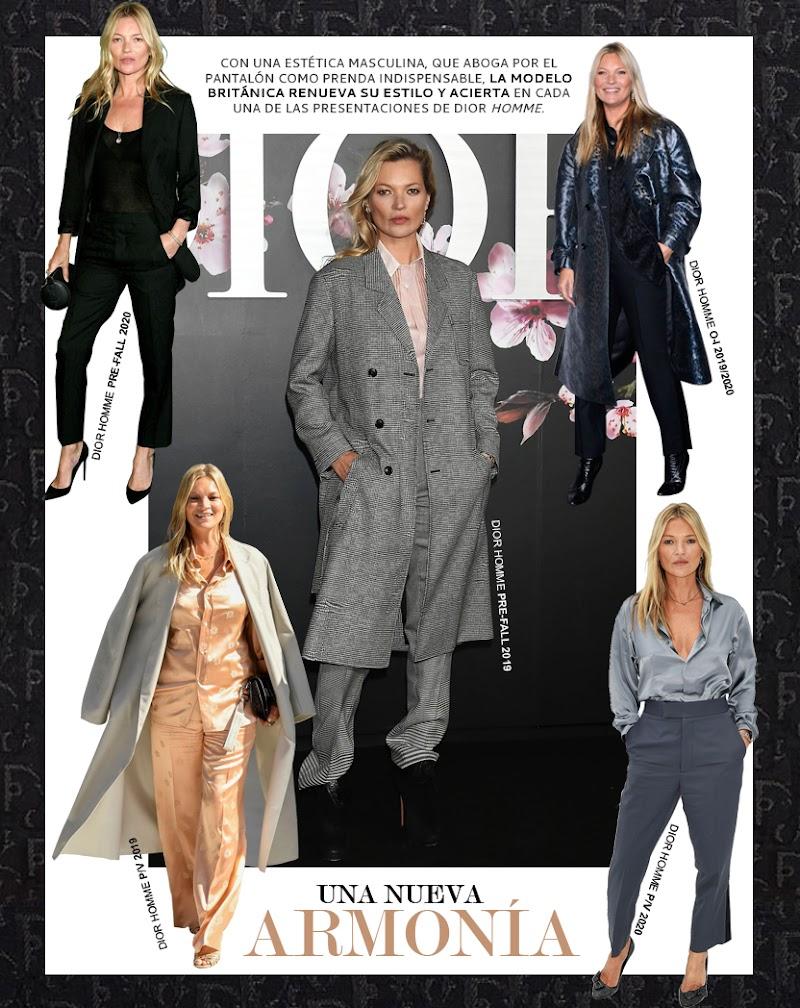 Kate Moss y Dior Homme, una relación de éxito estilístico
