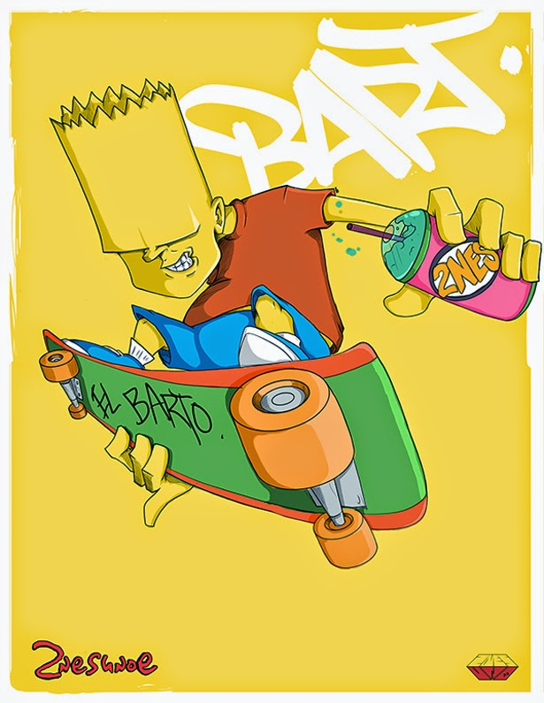 Bart Simpson by 2NES UNOe