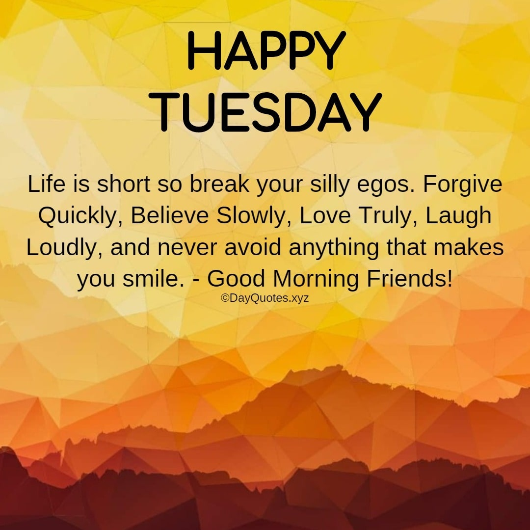 Quotes For Tuesday Morning To Share Inspiration & Motivation On Social Profiles