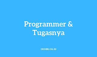 Apa itu Programmer, Tugas Programmer dan Gaji Programmer