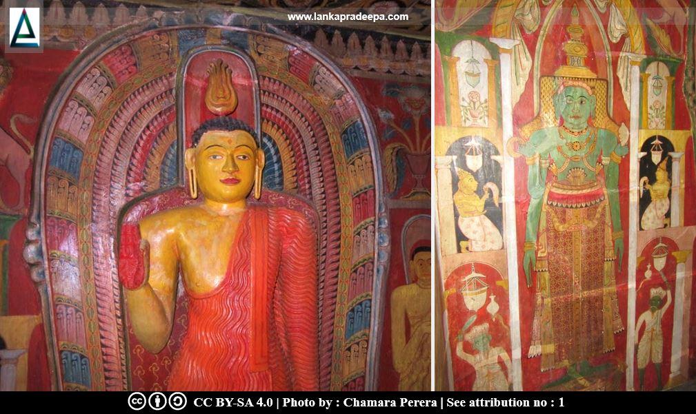 Statues & paintings