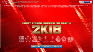FTS 2K18 by Danank Apk + Data Obb