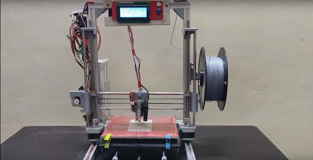 DIY 3D Printer Make at home in under Rs.10,000