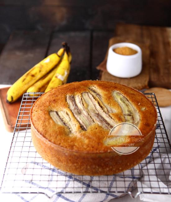 Resep Banana Cake JTT
