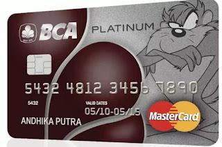 Gambar Kartu Kredit BCA MasterCard Platinum