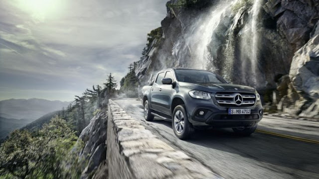Mercedes Benz X-Class, la pick up premium para hombres