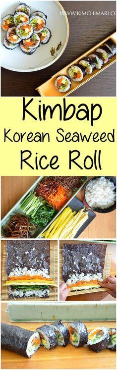 Kimbap – Seaweed Rice Roll