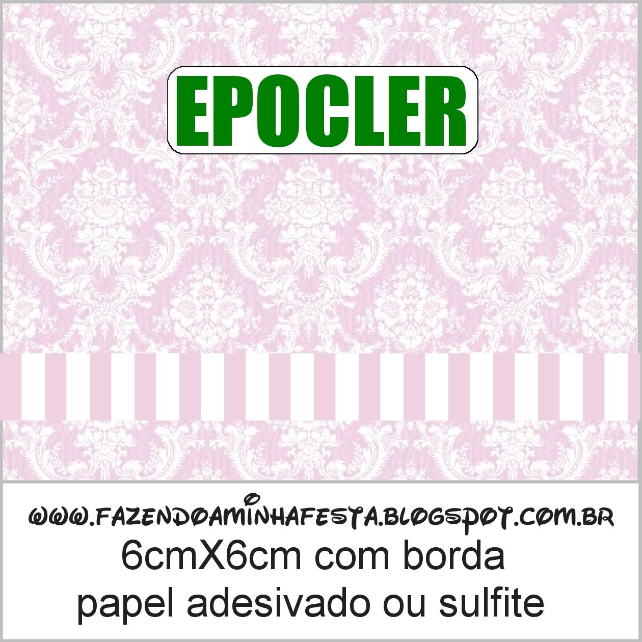 Kit Toilet Banheiro Rosa Provencal Fazendo A Minha Festa