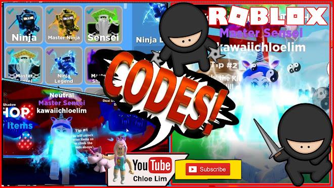 Roblox Ninja Legends New Update Chloe Tuber Roblox Ninja Legends Gameplay 3 New Codes Tour Of