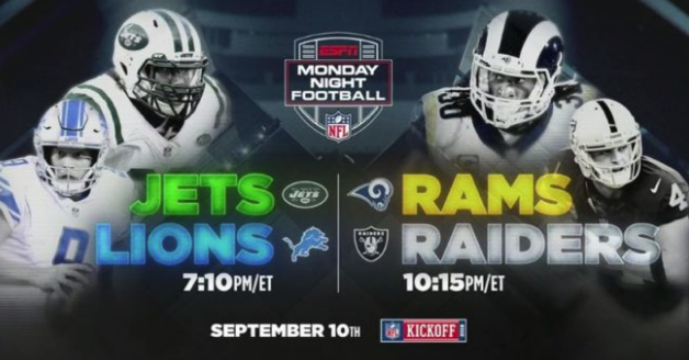 ESPN To Kick Off MNF With A Doubleheader