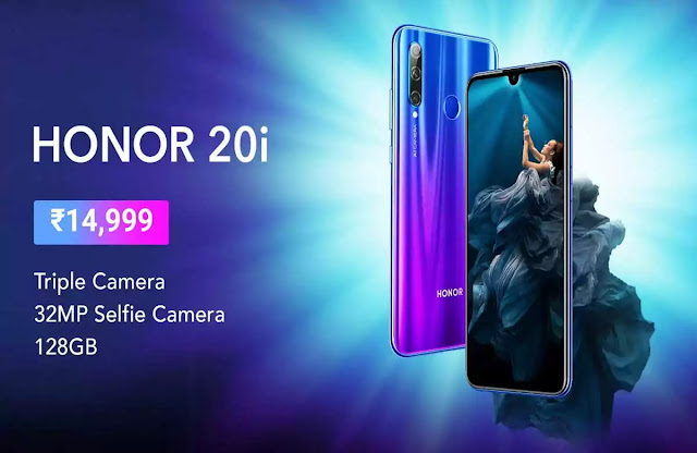 Honor 20 Series Triple Lens Camera with Honor 20 Pro, Honor 20, and Honor 20i Buy Online Flipkart @ 18 June 2019