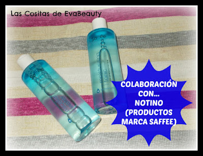 Colaboración con... NOTINO (Limpieza facial marca Saffee Cleasing)