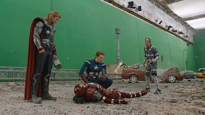 Los efectos visuales de 'Los Vengadores'