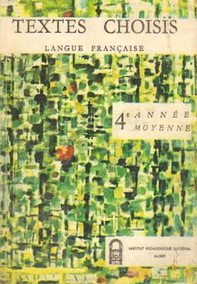 Manuels Anciens Textes Choisis De Langue Francaise 4e