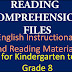 READING COMPREHENSION FILES