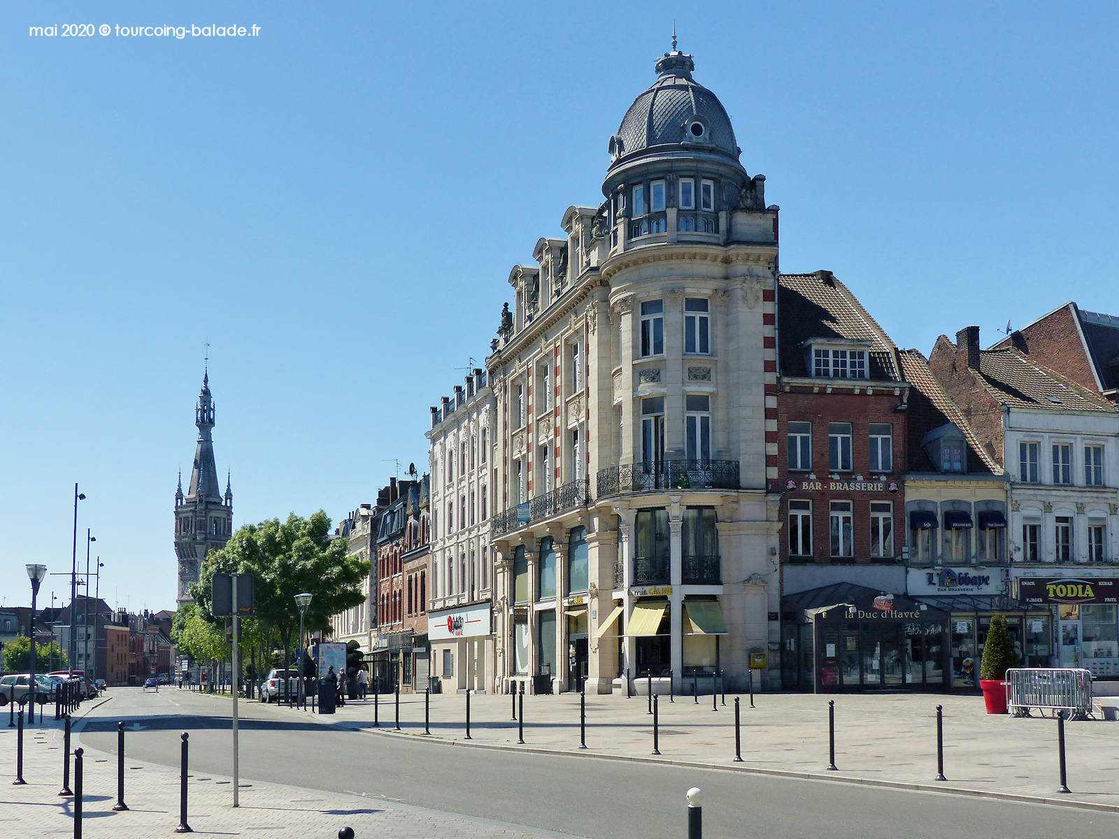 Maison de Maître, Place de la République, Tourcoing 2020