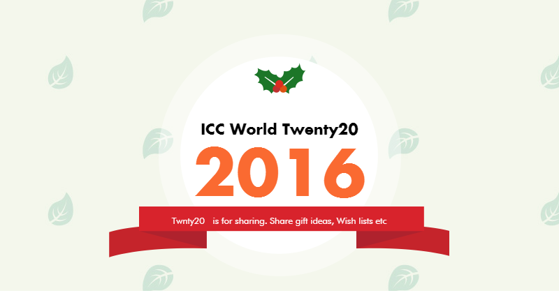innovationinbanking: ICC World Twenty20 2016 in India will boost Safe ...