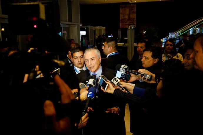 Temer enfatizou que é um governo verdadeiro | Foto: Alan Santos / Presidência da República