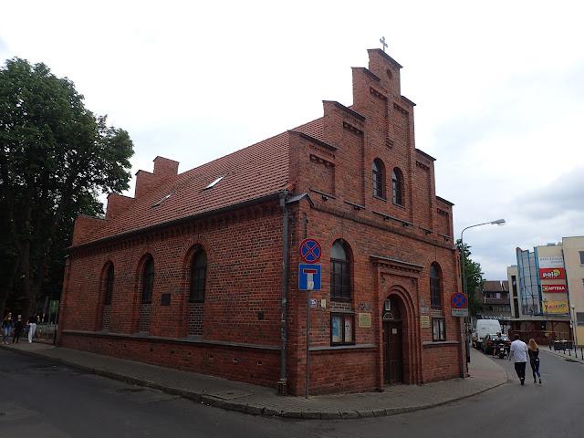 Kościół polskokatolicki - niestety był zamknięty