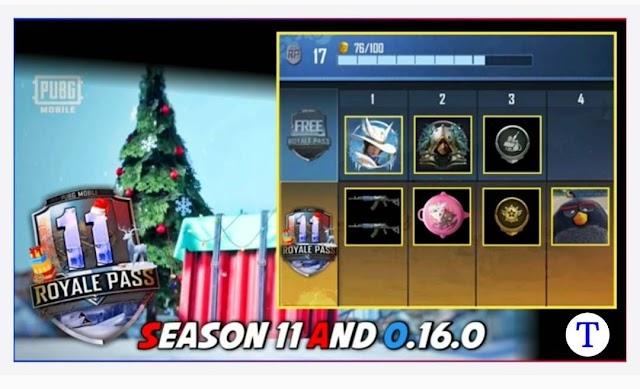 PUBG Mobile Season 11 Leaks and Winter update 2020