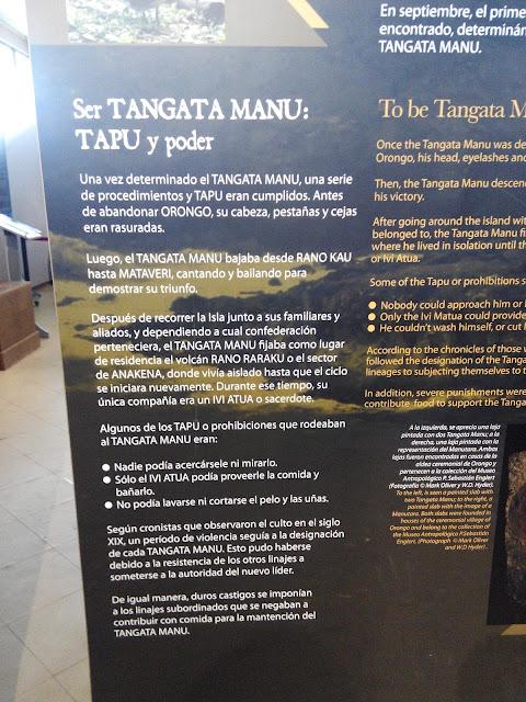 Tangata Manu, Isla de Pascua