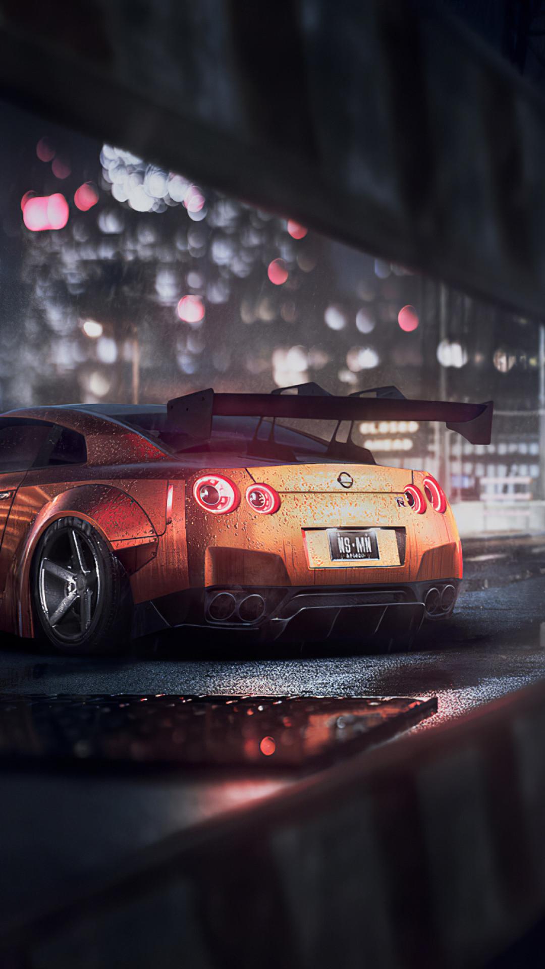 Nissan Gtr Need For Speed 4k Wallpaper