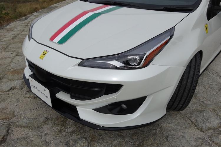'Hô biến' Toyota Prius thành siêu xe Ferrari FF chỉ 41 triệu đồng